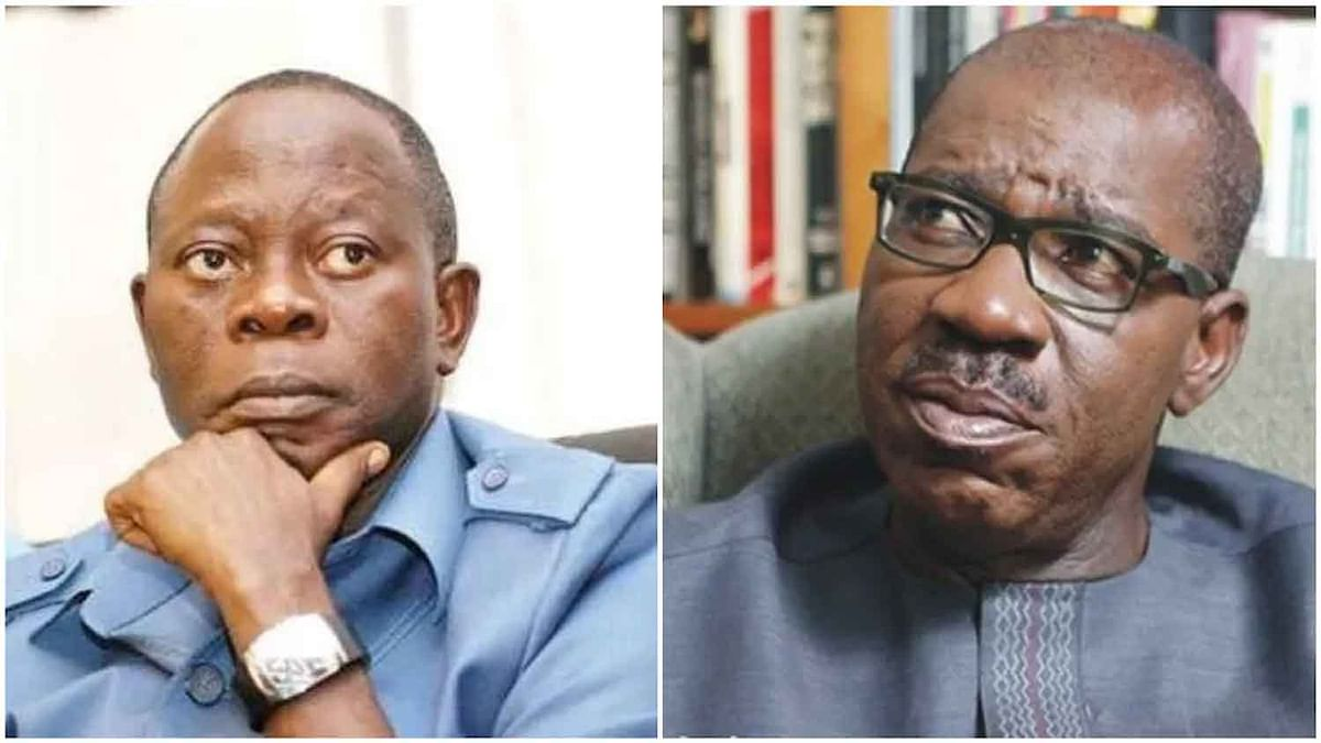 Oshiomhole Rejects Obaseki's Christmas Gifts