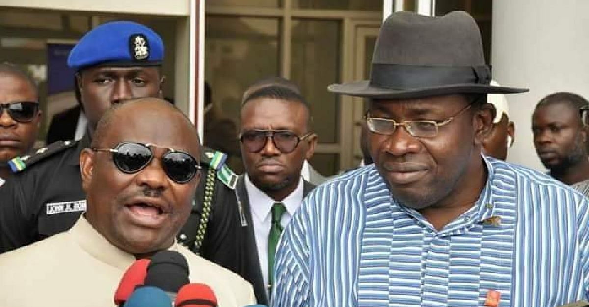 Governor Wike Accuses Dickson Of Betrayal Amidst Pleas To Reconcile