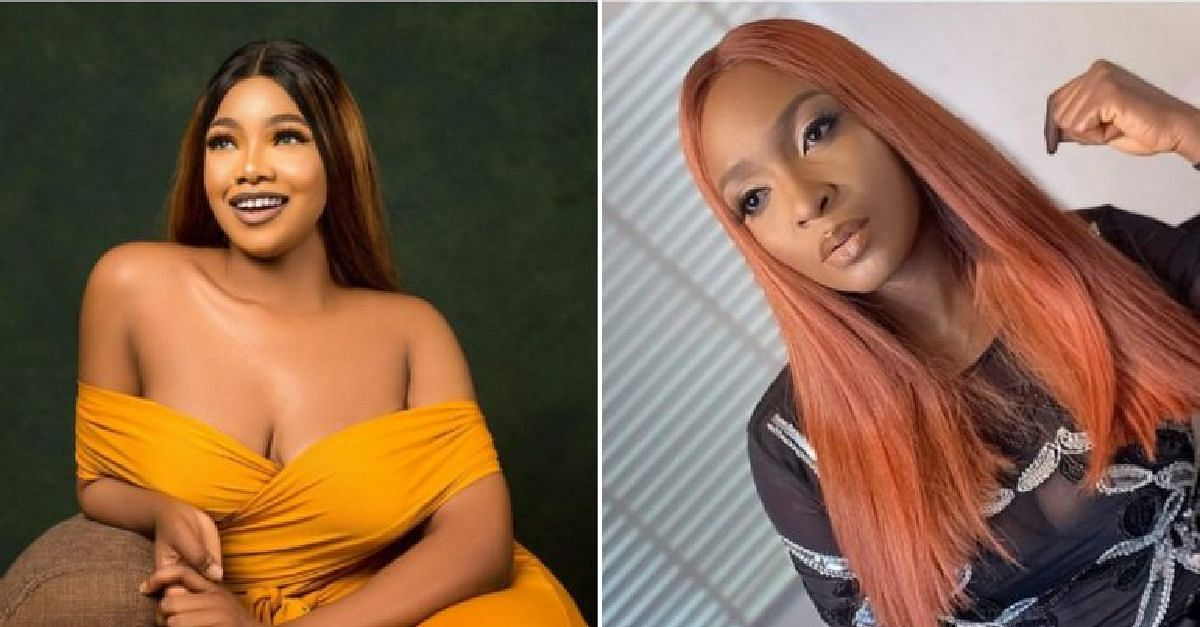 Blessing Okoro And BBNaija's Tacha At Loggerheads