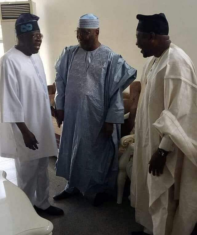 Tinubu, Atiku and Finitiri