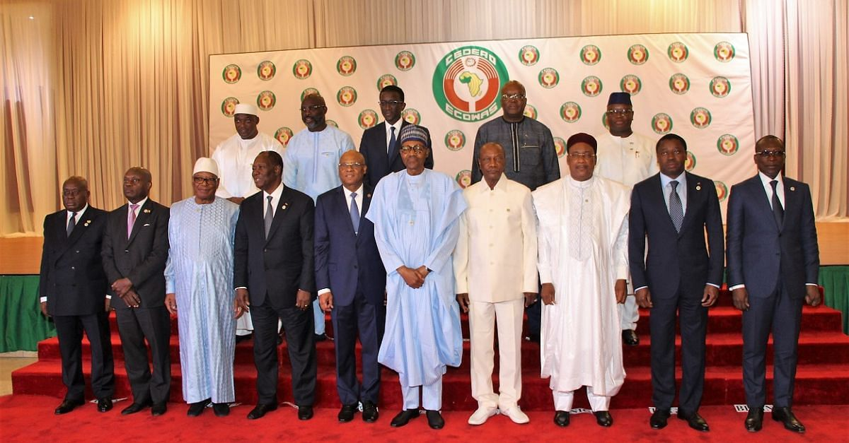 ECOWAS: Buhari Hosts Heads Of State At The 56th Ordinary Session