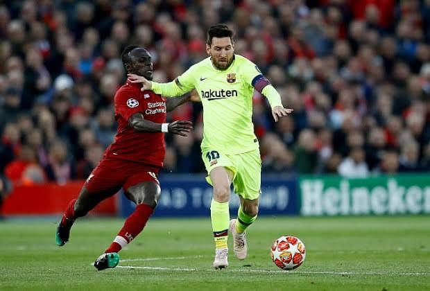 """It Is A Shame Mane Finished Fourth In Ballon d'Or"" - Messi"