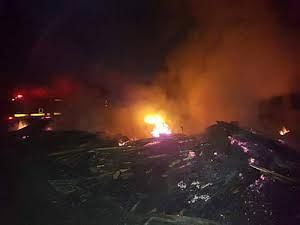 Fire Destroys Goods Worth Millions In Delta Timber Market