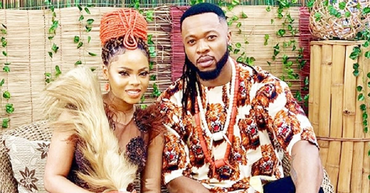 "Flavour And Chidinma Feature As Lovers In ""40Yrs Lovestacle"" Movie"