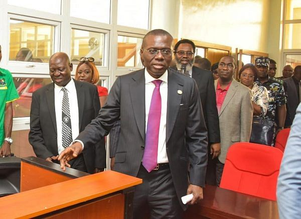 Sanwo-Olu Commissions 5 Newly Constructed Courts Complex