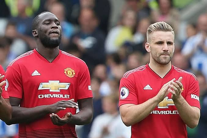 Luke Shaw Mocks Romelu Lukaku Following Champions League Exit