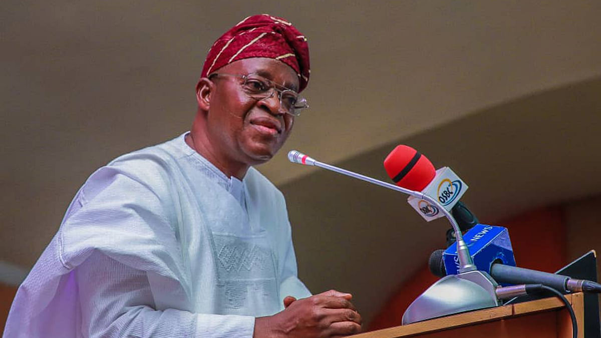 Governor Oyetola Urges Accountants To Help Fight Corruption
