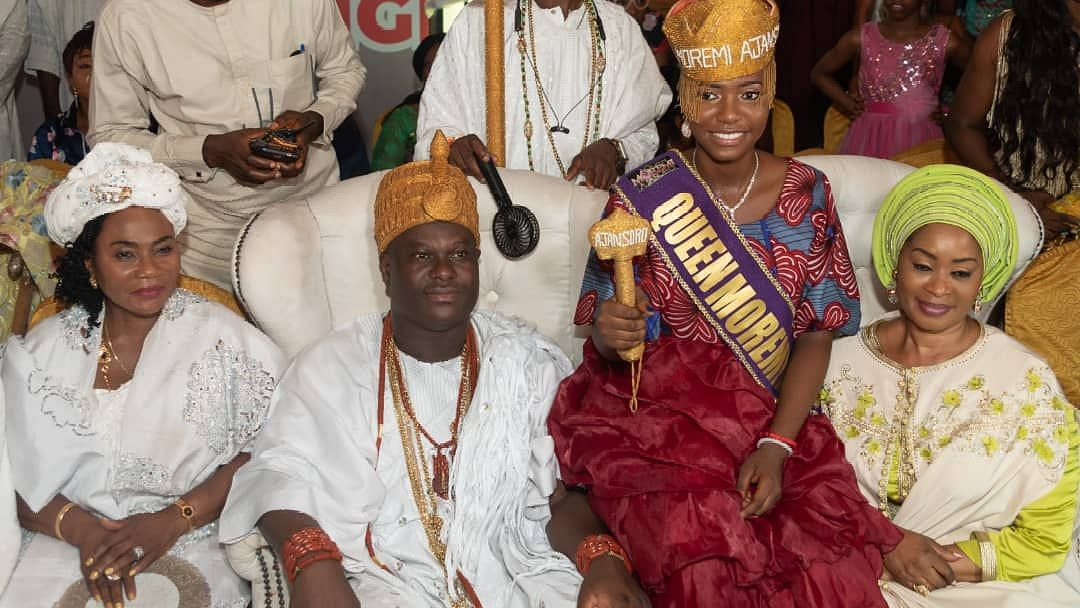 Ooni And The New Queen Moreemi Ajasoro