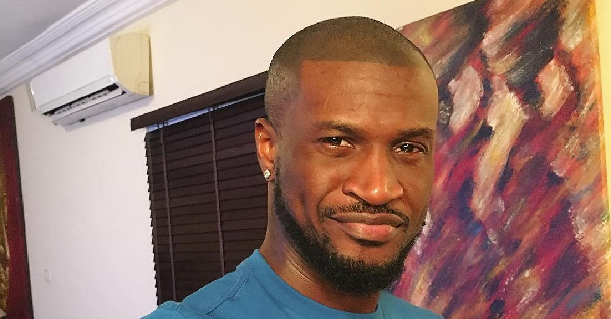 """Insecure, Childish Egghead,"" Fan Blasts Peter Okoye"