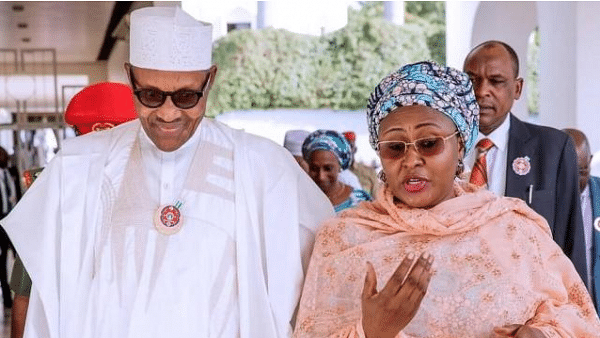 First Lady's Outburst: PDP Urges Buhari To Put House In Order