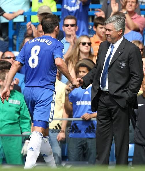 Lampard and Ancelotti