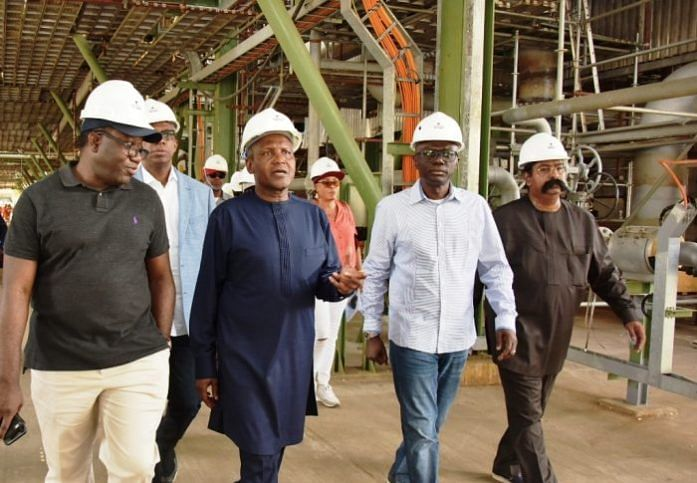 11 State Governors Visit Dangote Lagos Refinery