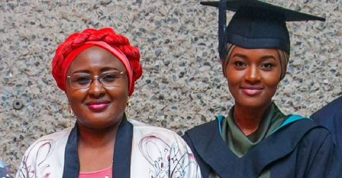 Aisha Buhari and her daughter