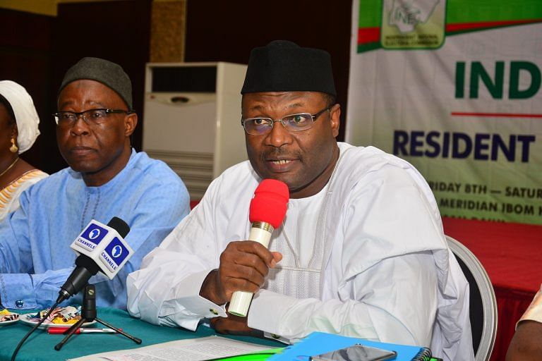 INEC Says It Will Not Fold Hands Over Election Violence