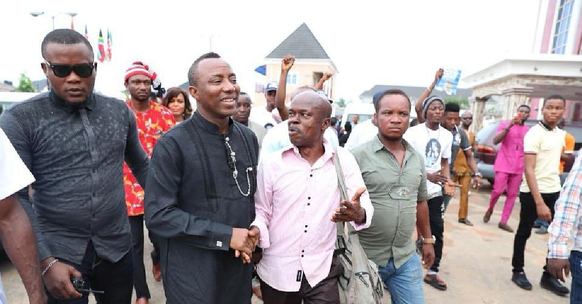 Sowore's Rearrest: Group Of Nigerians In Support Of DSS