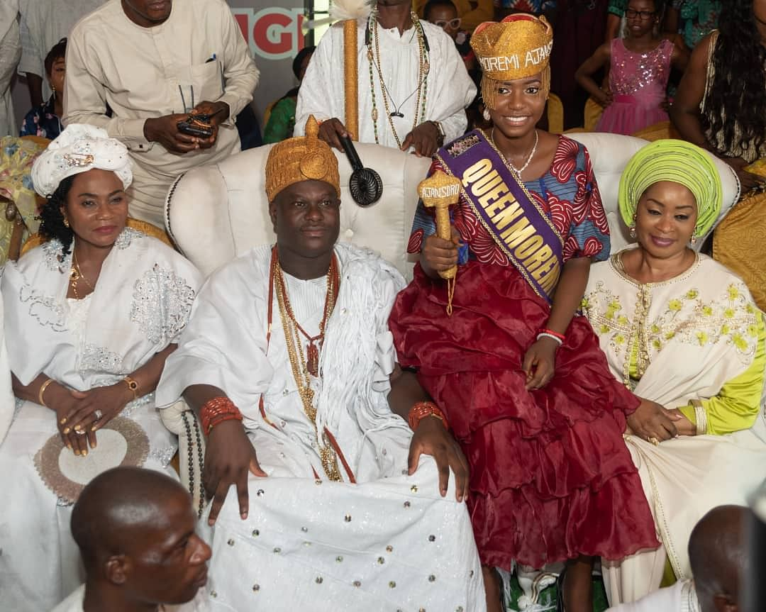 The new queen with Ooni