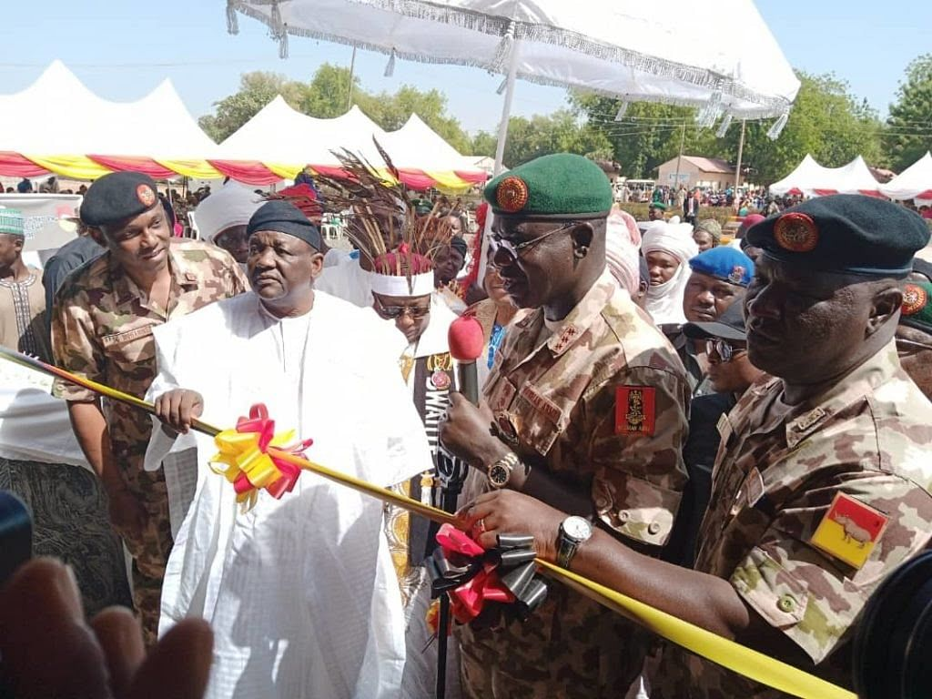 Battling Insurgency: Fintiri Lauds The Nigerian Army
