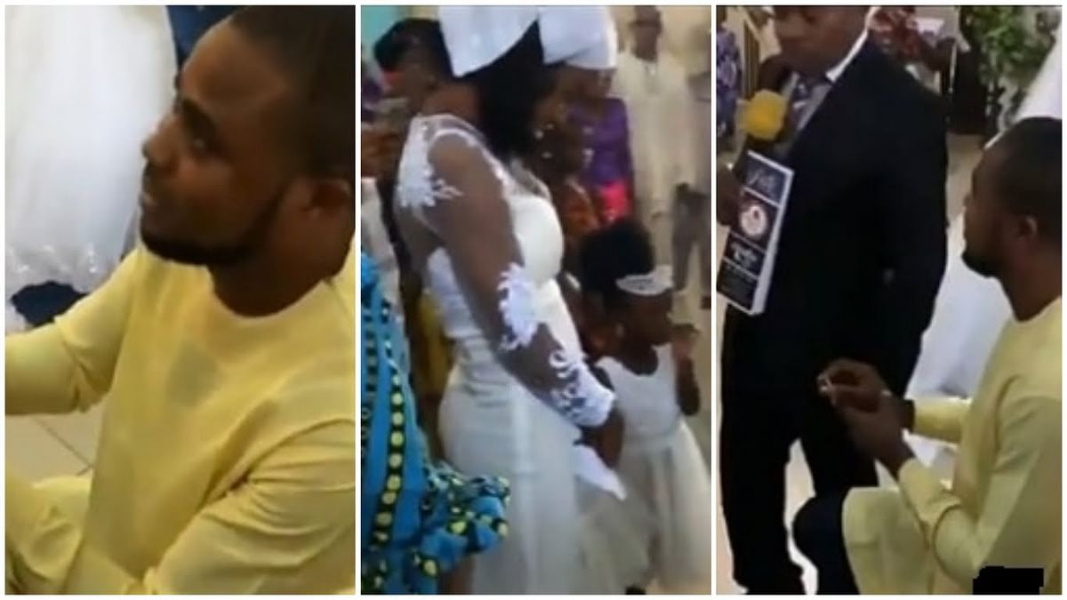 Nigerian Man Stopped From Proposing To His Girlfriend In Church Speaks