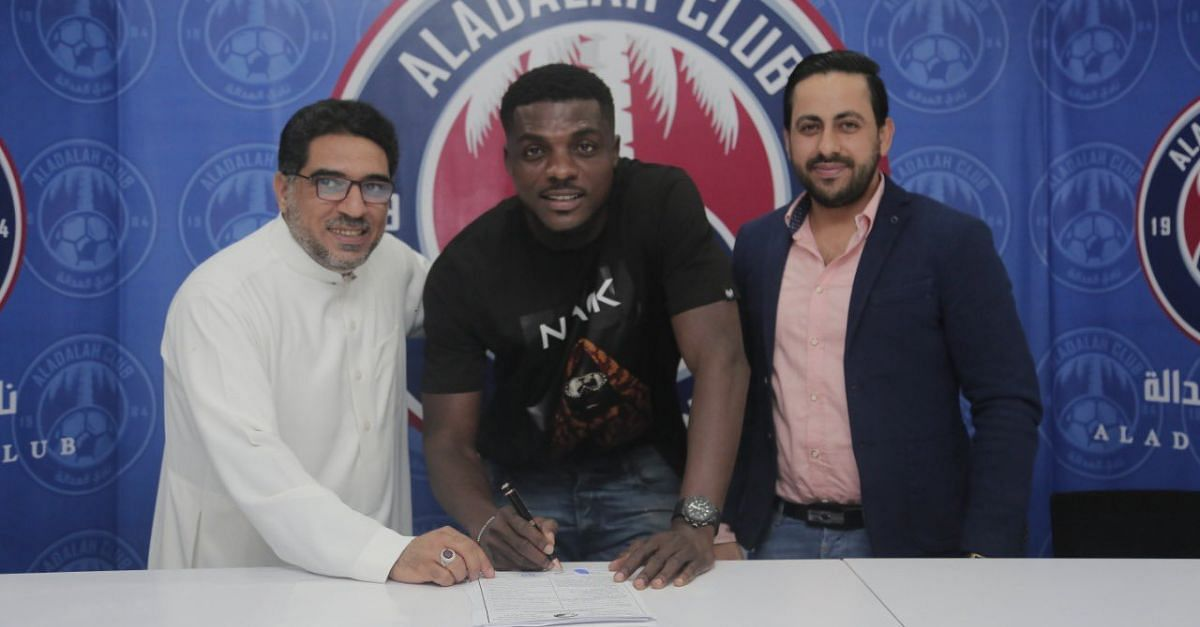 John Ogu Signs Six Months Contract With Saudi Club, Al Adalah FC