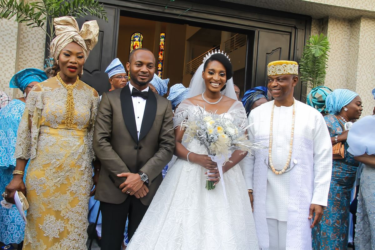Adesekemi Aderemi And Anthony Atuche Wed In Grand Style (Photos)