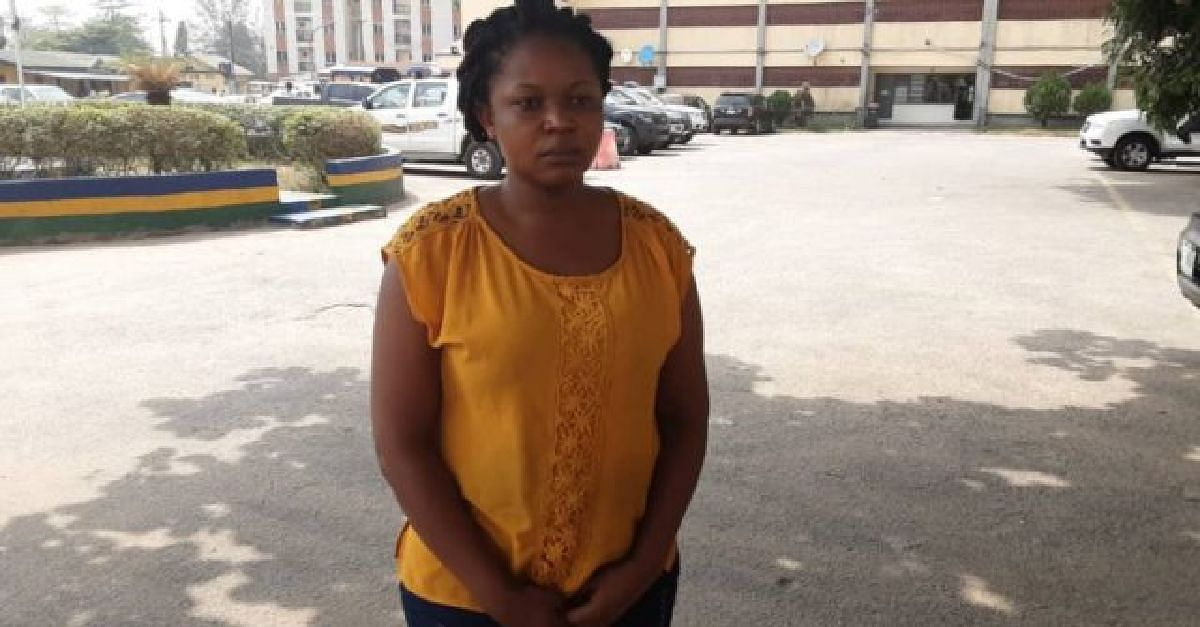 Lady Arrested By Police For Planning Own Kidnap With Boyfriend