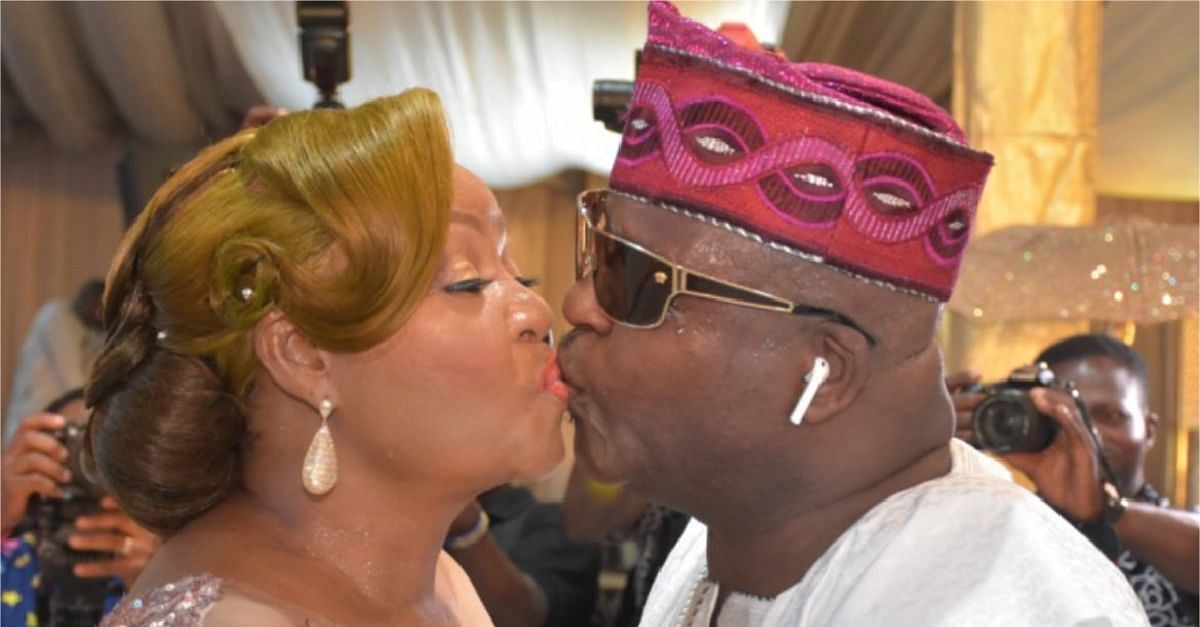 Shina Peters Serenades  Wife, Sammie, On Her 60th Birthday