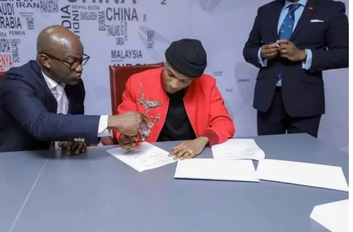 Wizkid Bags The Biggest Endorsement Deal In Africa