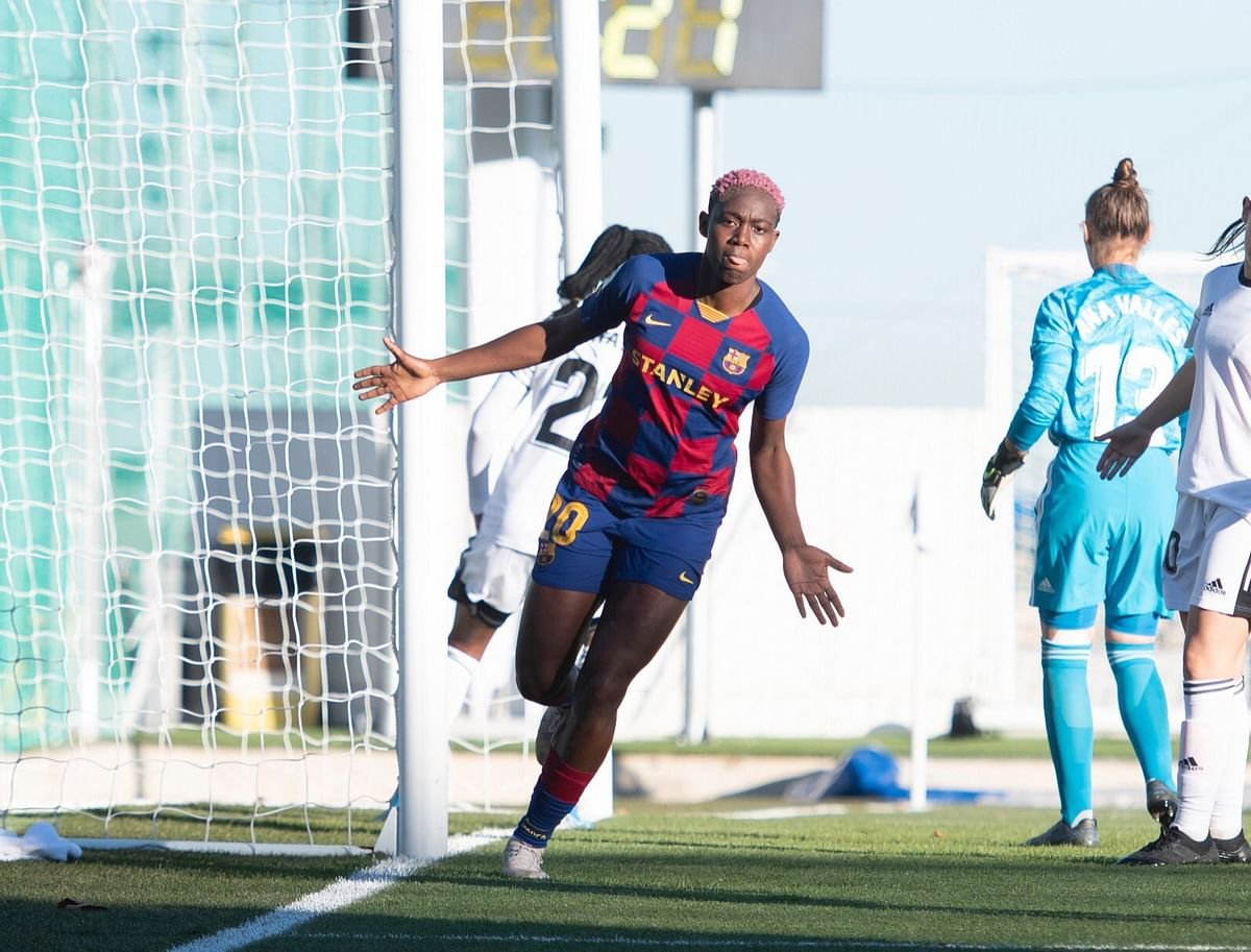 Asisat Oshoala Scores Four As Barcelona Thrash CD Tacon