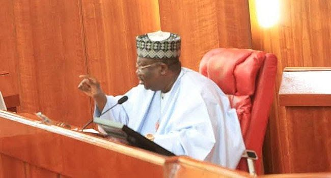 Senate President Commiserates With Yobe Fire Victims