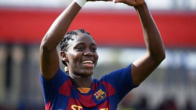 Oshoala Emerges Africa's Best Player For The Fourth Time