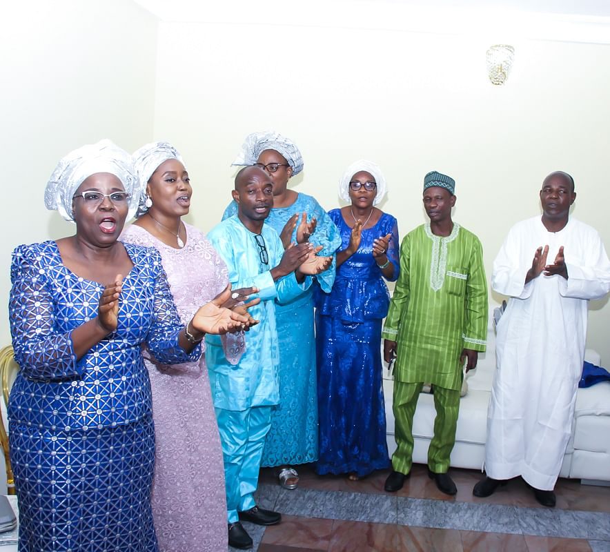 Eminent Personalities Grace Seriki, Awojobi's Introduction Ceremony