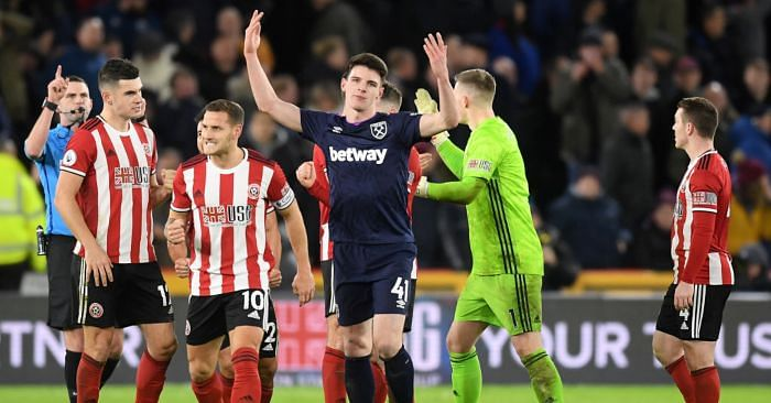 Declan Rice Calls Out English VAR For Disallowing Goal