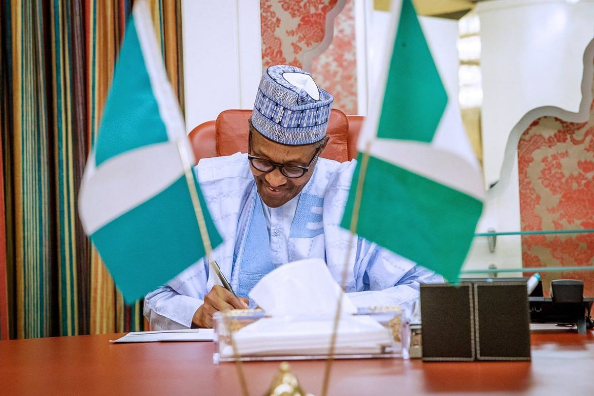 Buhari Urges The Senate to Confirm Appointment Of Obiora, Others