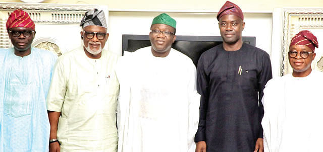 South-West Governors
