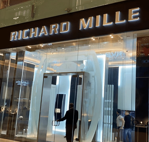 Hushpuppi Shows Off His N90M ($250k) Richard Mille Wristwatch