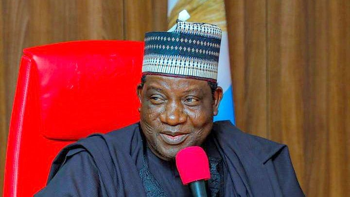 Governor Lalong Inspects First  Security Watchtower In Jos