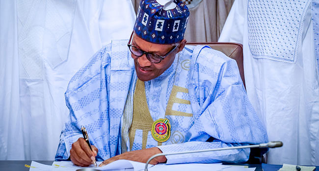 Buhari Signs Finance Bill Into Law