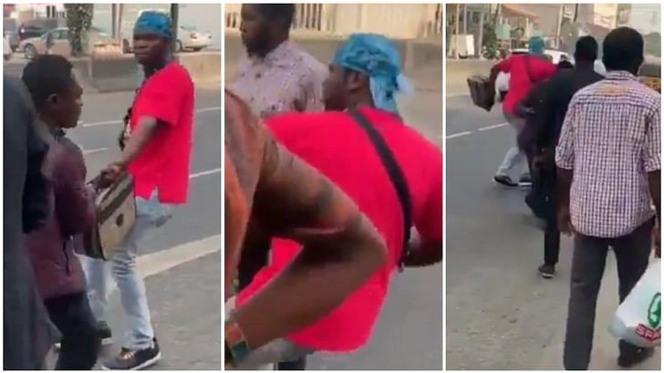Speed Darlington Refuses To Pay Bike Man For Trip, Engages In A Fist Fight