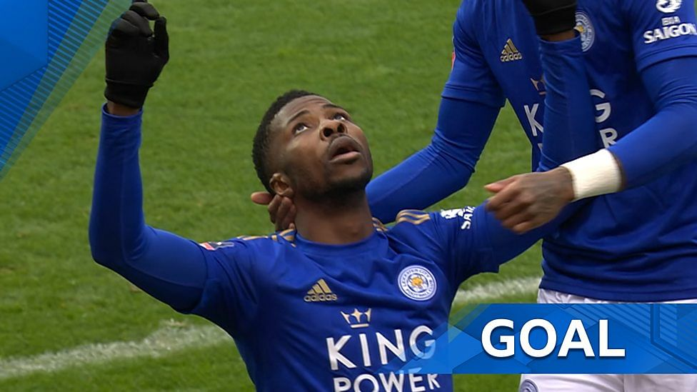 Iheanacho Scores Winning Goal For Leicester Against Brentford