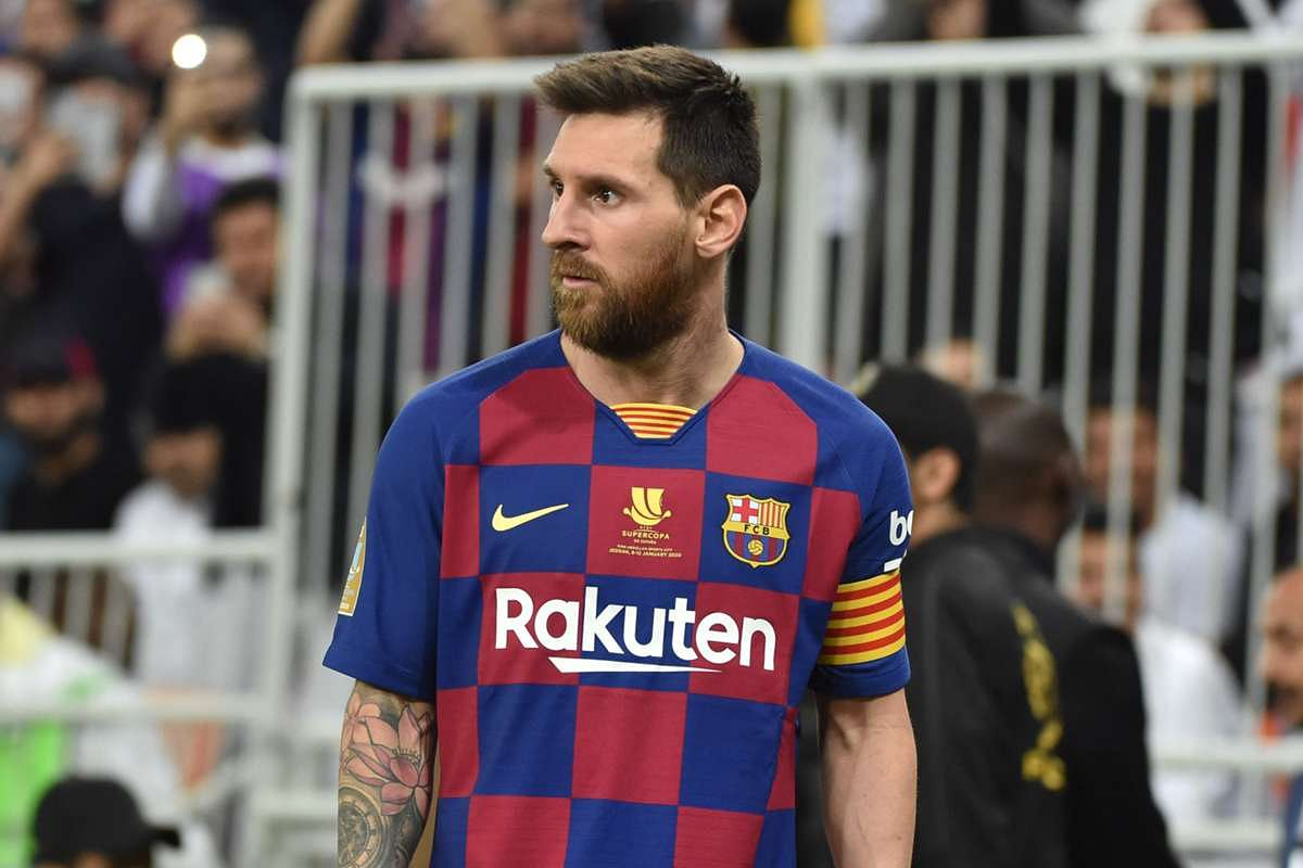 Messi Fumes Over Barcelona's 'Childish Mistakes' In Supercopa Loss
