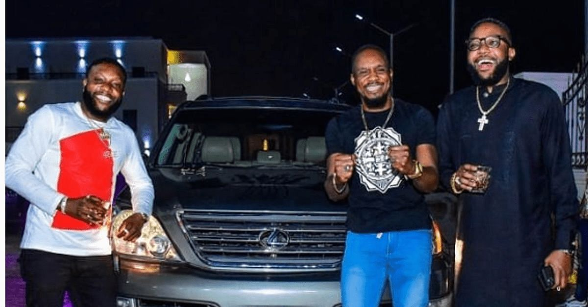 E-Money And Kcee Gift Junior Pope Brand New Lexus SUV