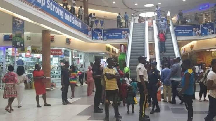Woman Confronts Her Husband's Side Chick At Ikeja Mall (Video)