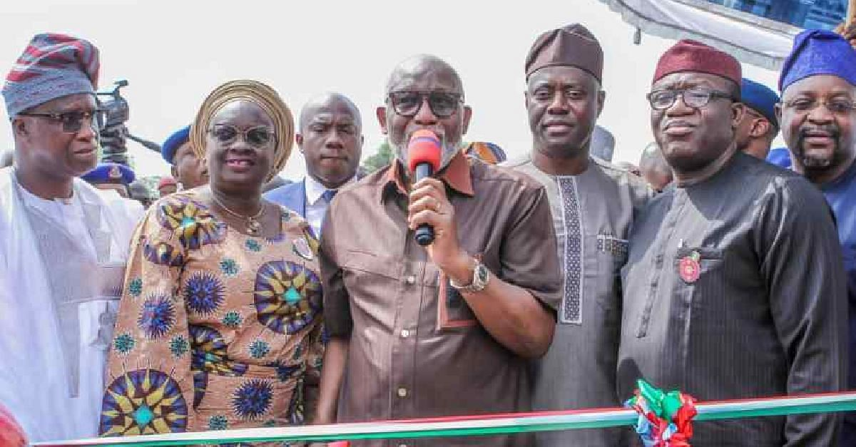 Makinde other governors at the launch of Operation Amotekun
