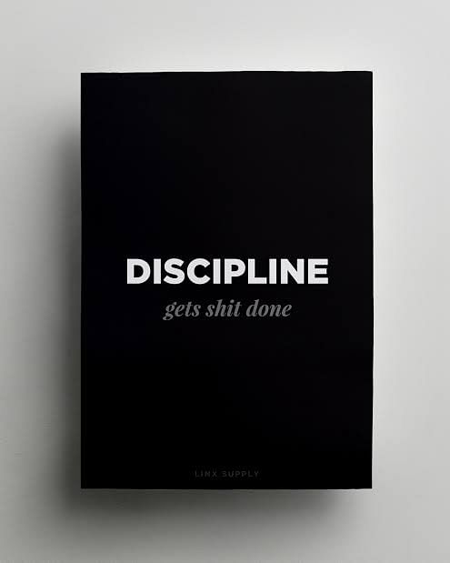 Discipline is mastering the mind and body