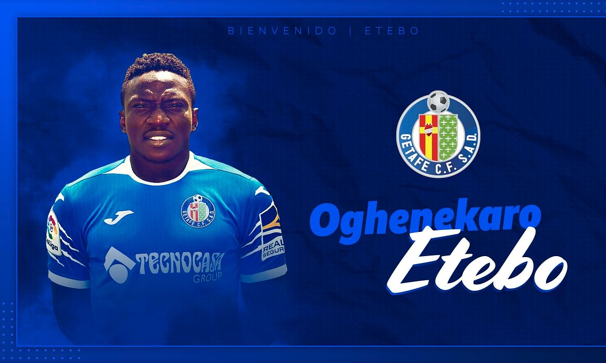 Official! Etebo Joins Getafe On Loan From Stoke City