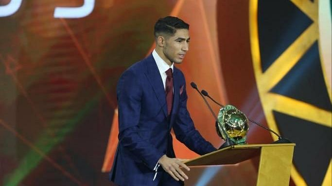 Hakimi Beats Chukwueze To CAF Youth Player Of The Year Award