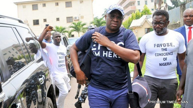 """I Will Remain Your Headache In 2020,"" Fayose To Critics"
