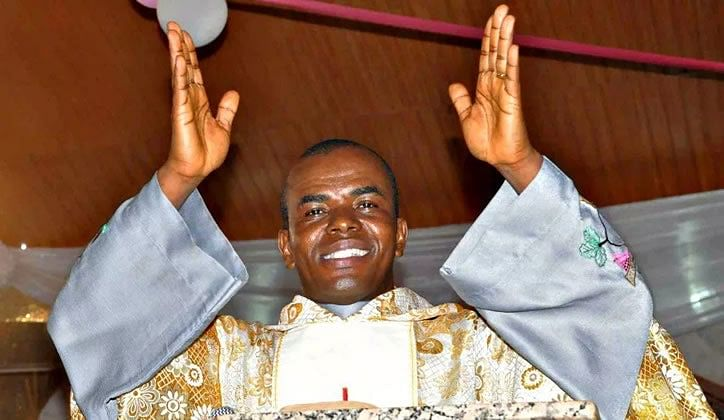 """Uzodinma's Victory is Only One Of 40 Prophecies,"" Says Rev Mbaka"