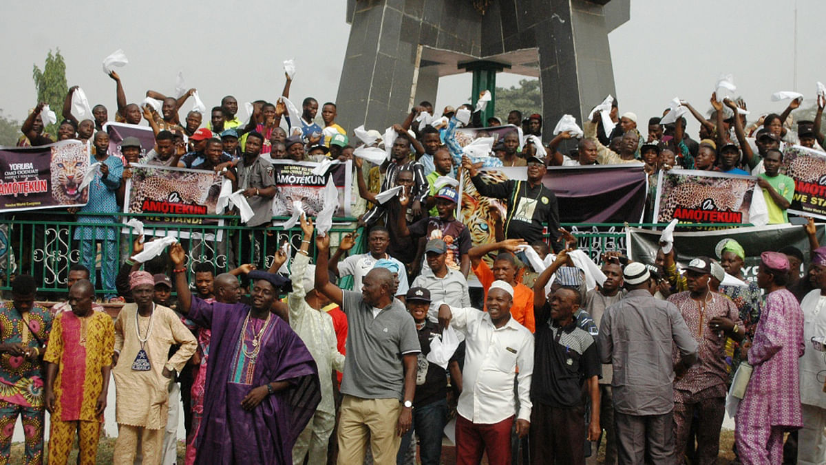 South-West Amotekun Protest
