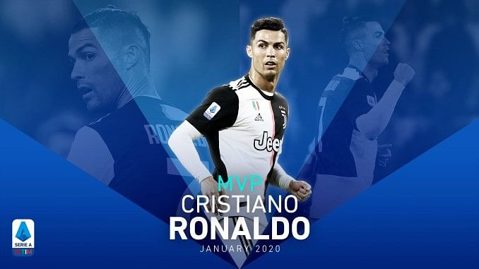 Cristiano Ronaldo Wins Serie A Player Of The Month For January